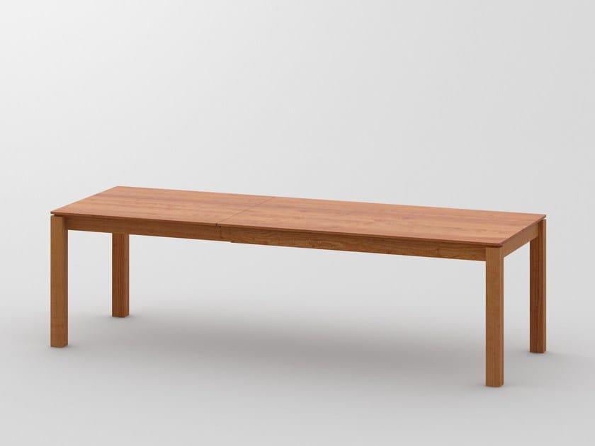 Tavoli Da Pranzo In Legno Allungabili : Tavolo allungabile da pranzo rettangolare in legno massello verso
