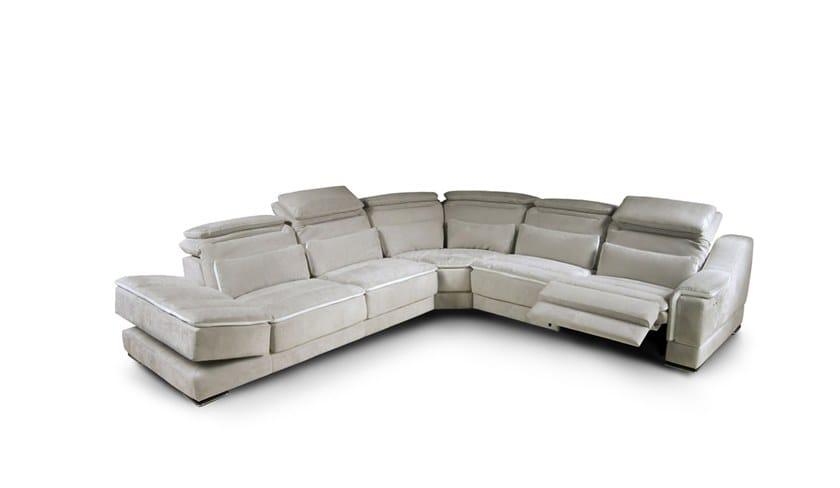Corner Recliner Leather Sofa VERSUS   Corner Sofa By Nieri