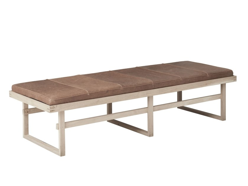 Leather day bed VERTICAL | Day bed by Kristina Dam Studio
