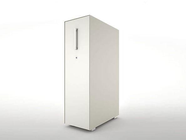 Low modular office storage unit VERTICAL FILE by Dieffebi