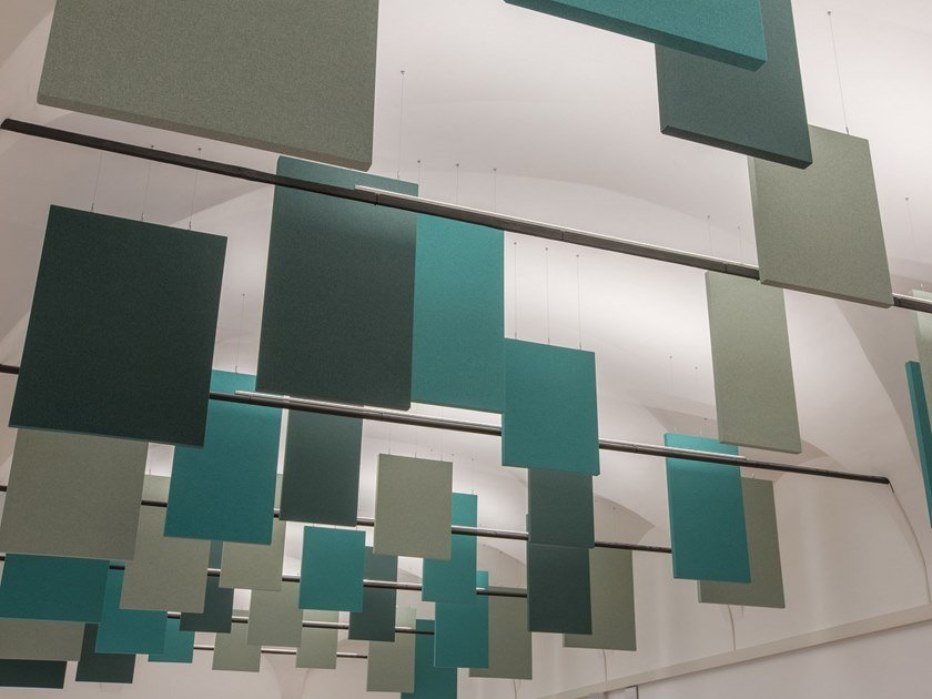 Fabric soundabsorbing panel VERTICAL by ITP