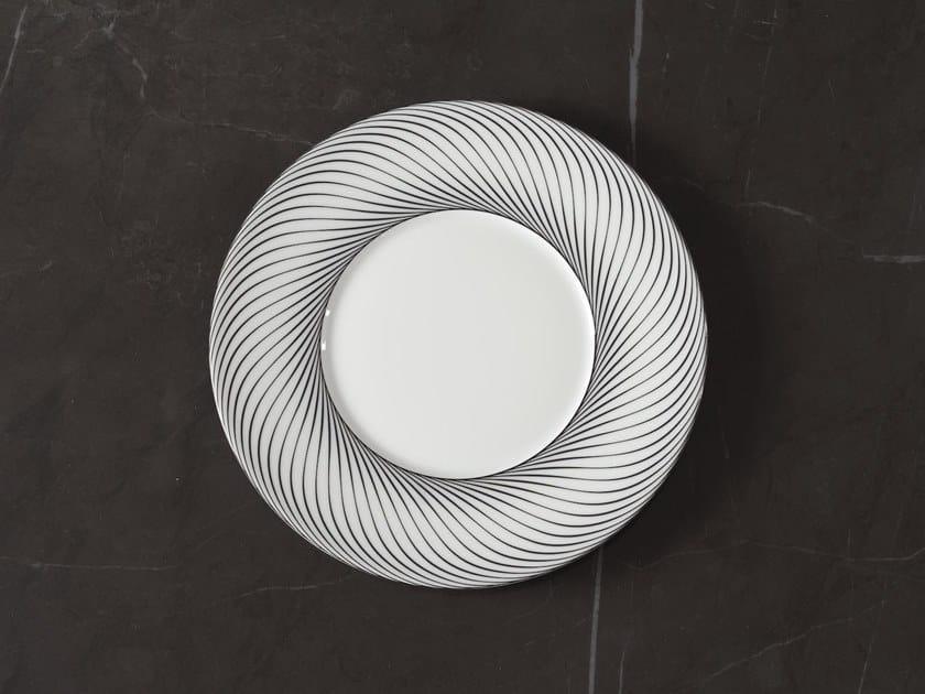Porcelain dessert plate VERTIGE | Dessert plate by extranorm