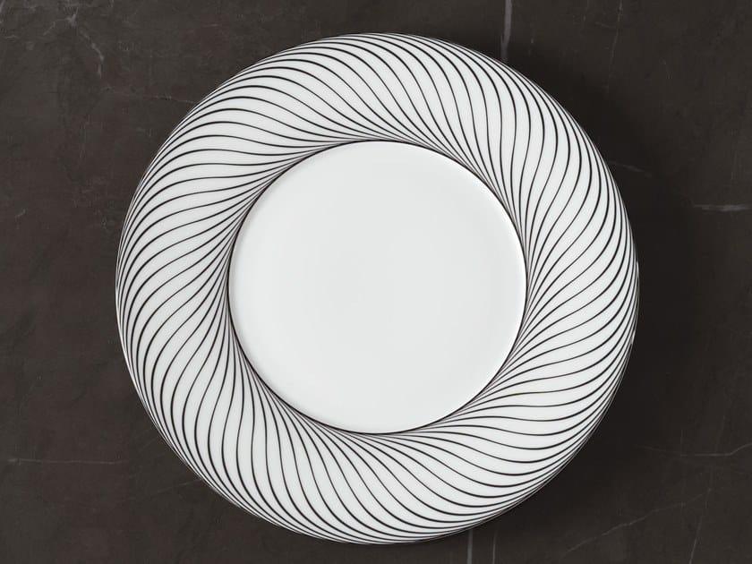 Porcelain dinner plate VERTIGE | Dinner plate by extranorm