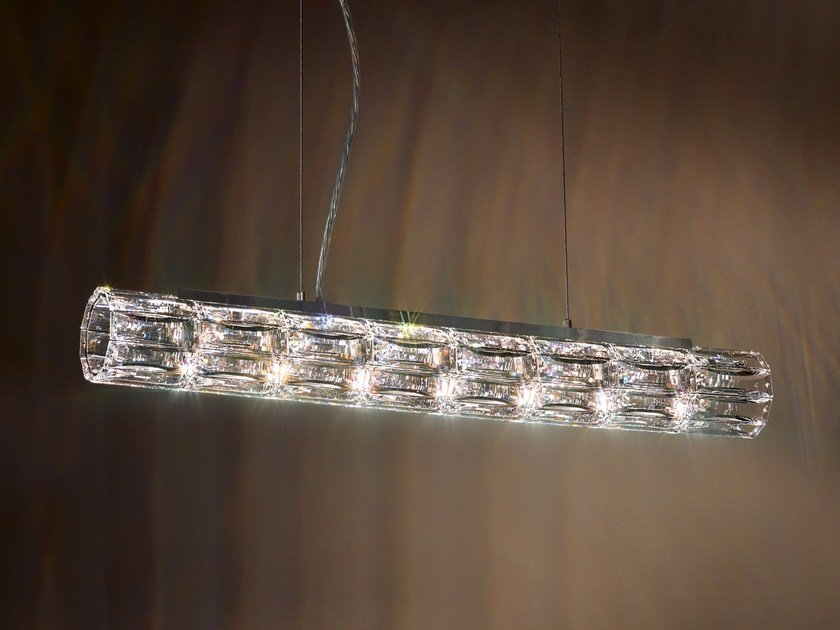Halogen pendant lamp with Swarovski® Crystals VERVE | Pendant lamp by Swarovski
