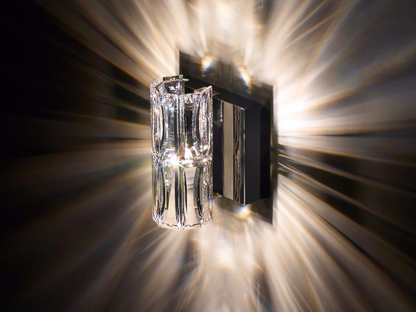 Halogen wall light with Swarovski® crystals VERVE | Wall light by Swarovski