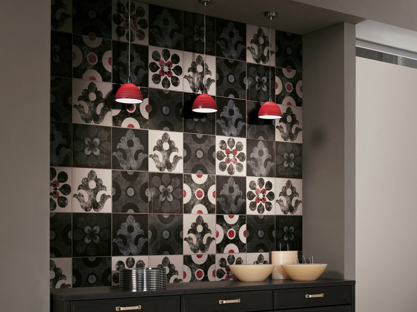 Glazed stoneware wall tiles VIA EMILIA | Wall tiles by CIR