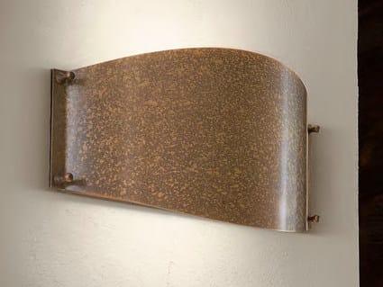 Direct-indirect light wall light VIA RIVE by Aldo Bernardi