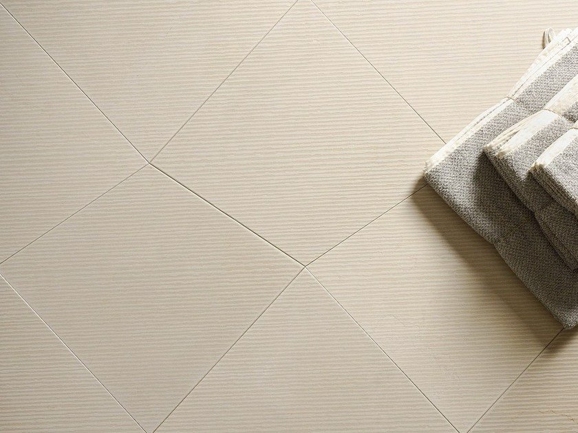Natural stone wall/floor tiles VIBES QUADRILATERO BEIGE by TWS