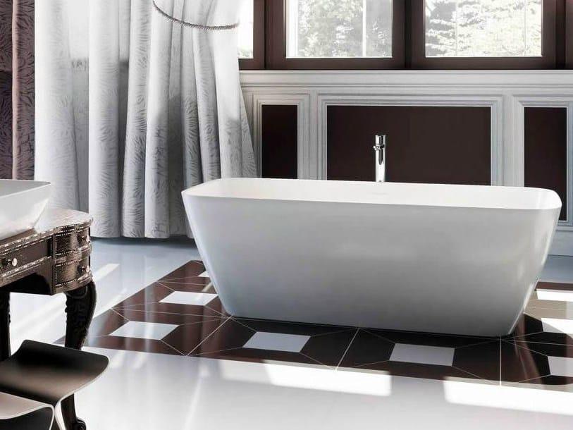Freestanding rectangular bathtub VICENZA PICCOLO by Polo