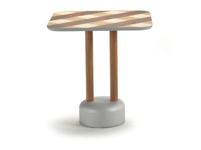 Tavolo quadrato in legno VICHY | Tavolo quadrato by Sancal