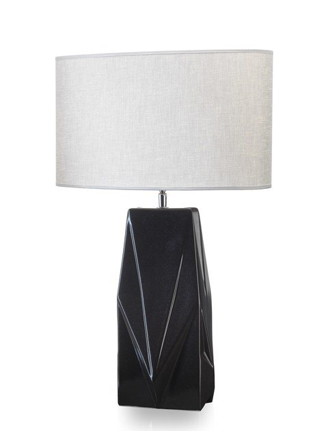 Contemporary style ceramic table lamp VICKY by ENVY