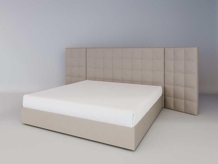 Upholstered fabric bed double bed VICKY | Upholstered bed by ITALIANELEMENTS