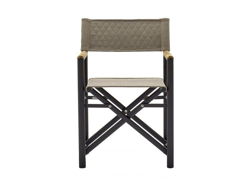 Sedia da giardino con braccioli in teak victor sedia con braccioli