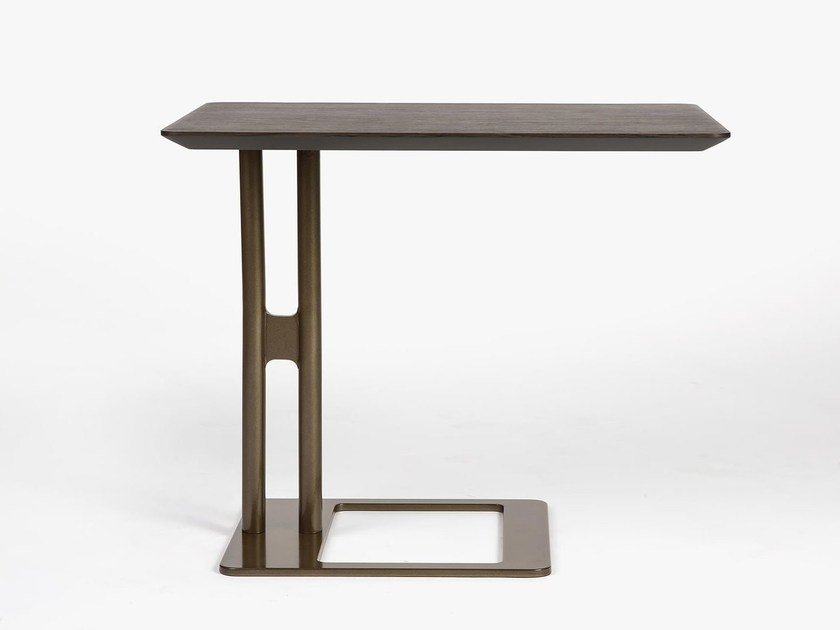 Rectangular wooden side table VICTOR | Coffee table by Esedra