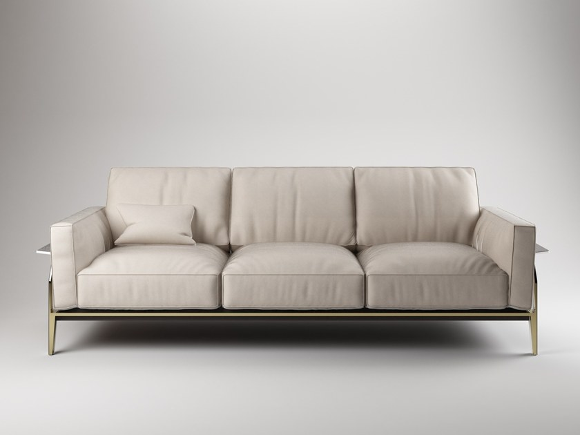 Leather sofa VICTOR by Paolo Castelli