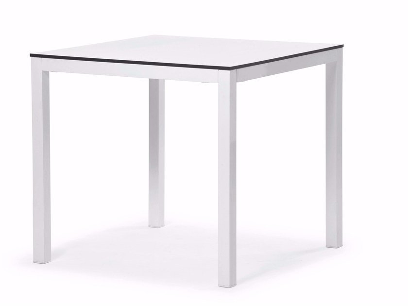 Square HPL table VICTOR | Square table by Varaschin
