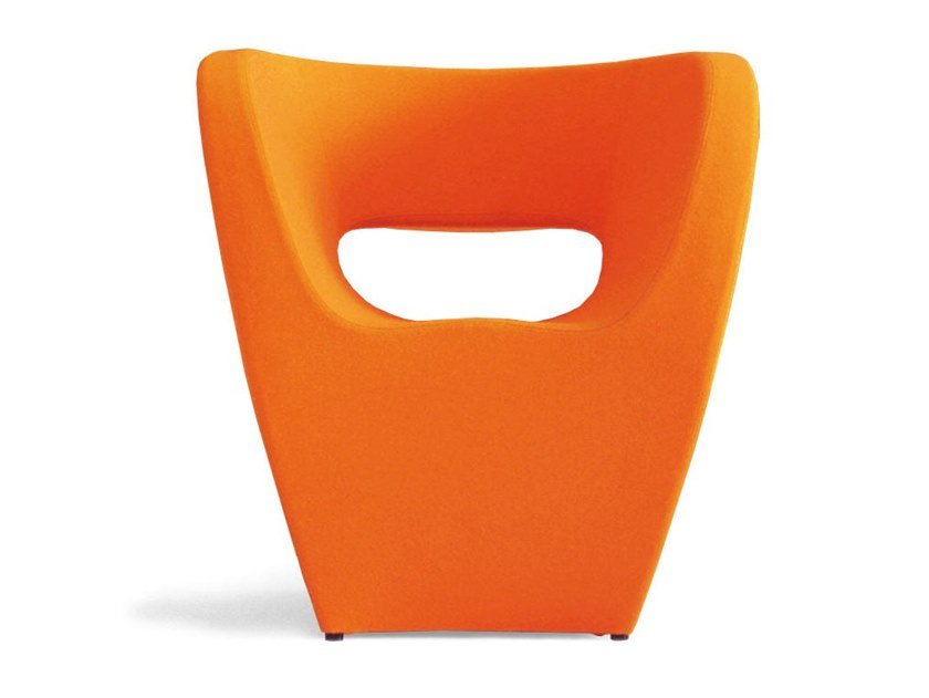 Easy chair with armrests VICTORIA AND ALBERT   Easy chair by Moroso