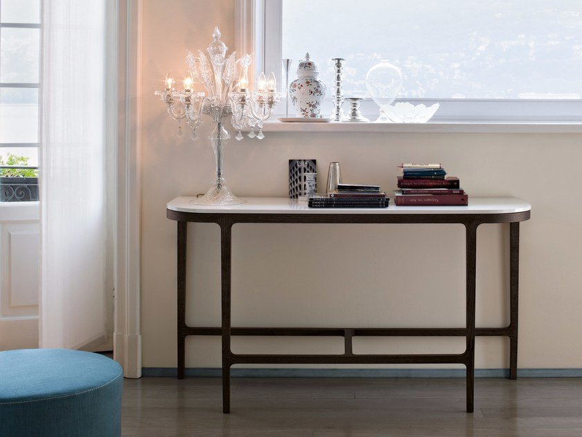 Wooden console table VICTORIA by Lema