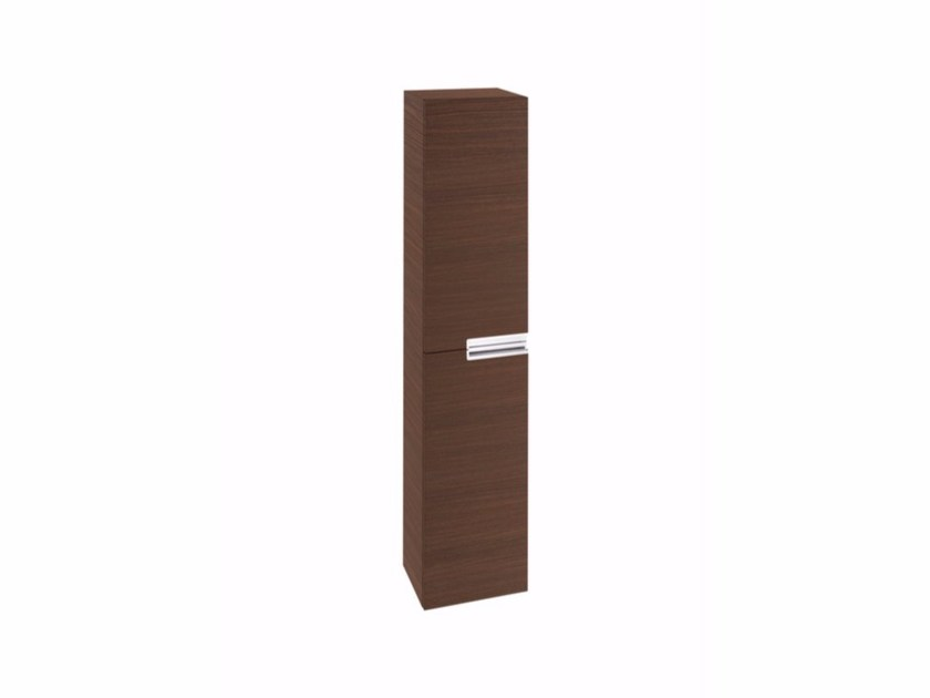 Tall Wooden Bathroom Cabinet With Doors VICTORIA N | Tall Bathroom Cabinet  By ROCA SANITARIO