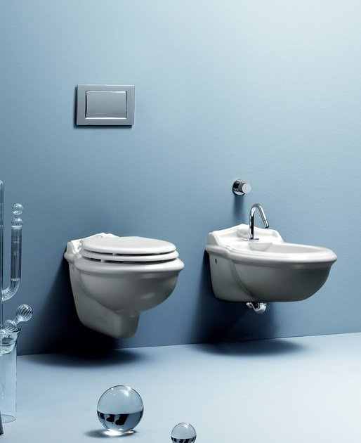 VICTORIAN STYLE | Wall Hung Bidet Victorian Style Collection By AZZURRA  Sanitari