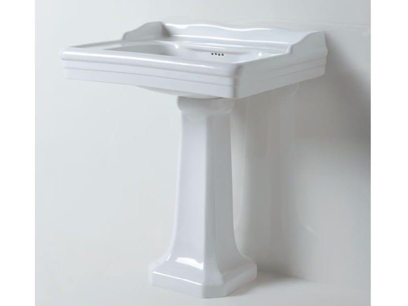Pedestal ceramic washbasin VICTORIAN STYLE | Pedestal washbasin by AZZURRA sanitari