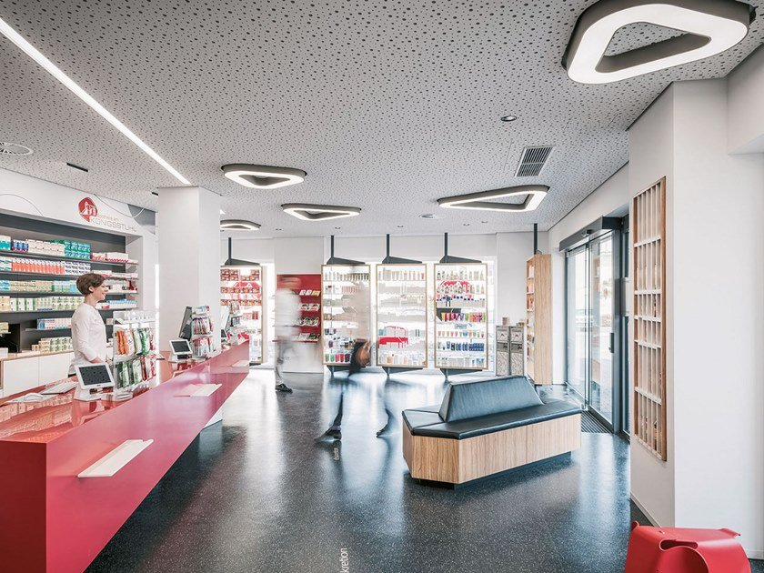 LED ceiling lamp VICTORY SURFACE by PROLICHT