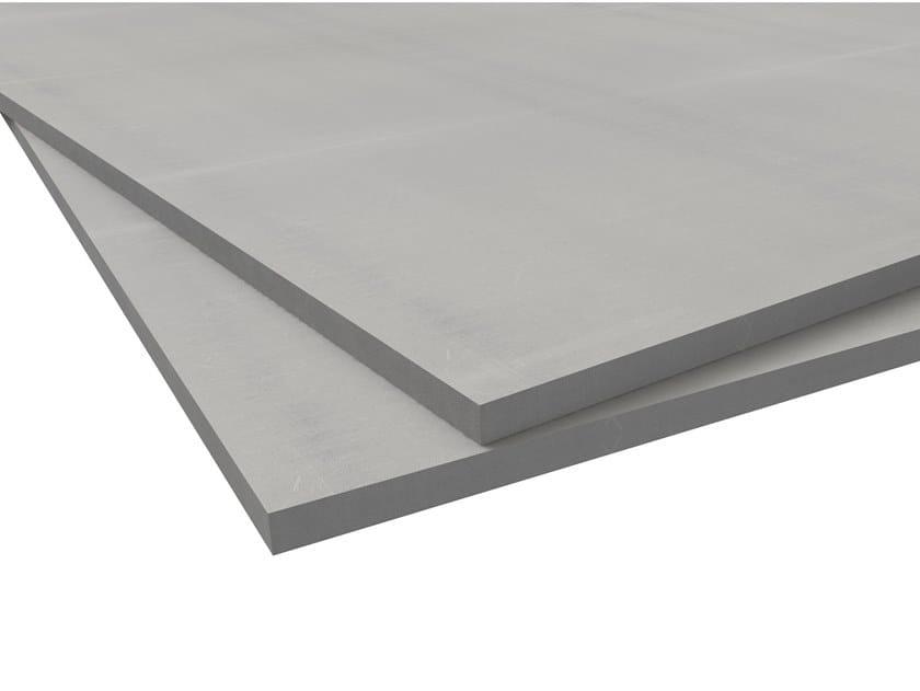 Gypsum fiber prefabricated wall panel VIDIWALL® XL by Knauf Italia