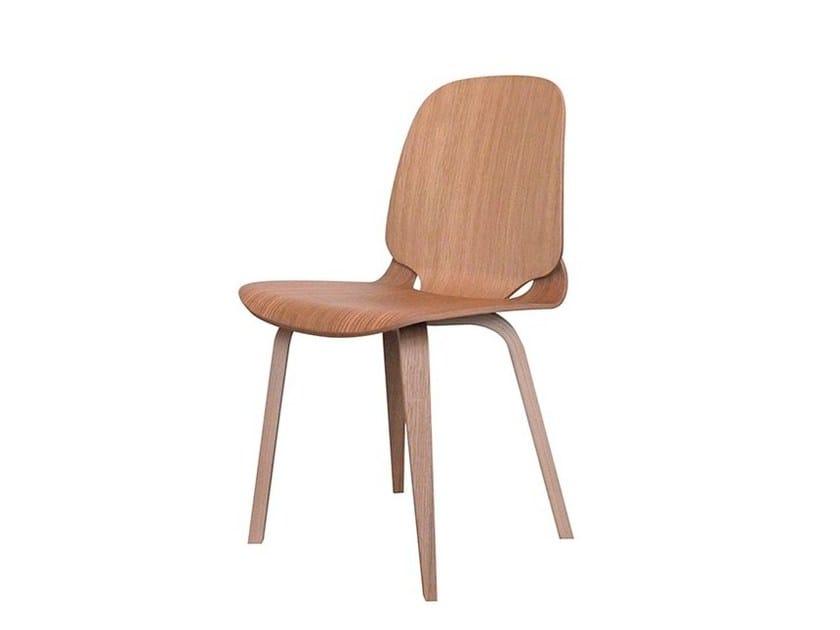 Wood veneer chair VIGGO | Chair by Danerka