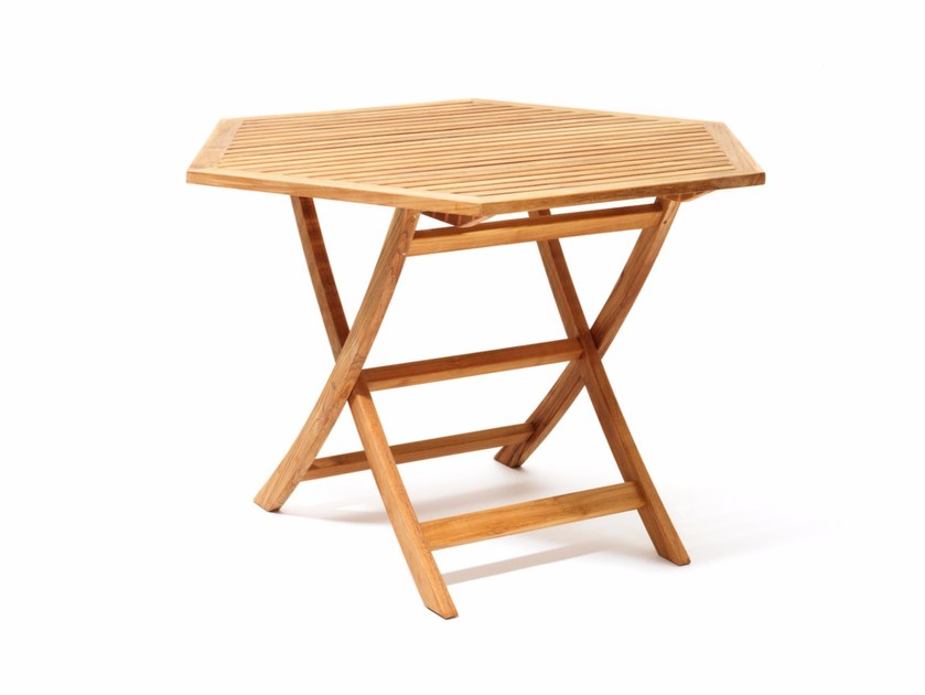 Teak garden table VIKEN | Garden table by Skargaarden