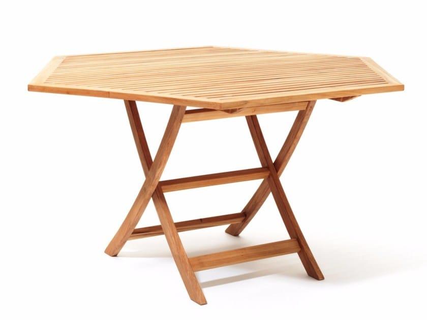 Teak garden table VIKEN | Teak table by Skargaarden
