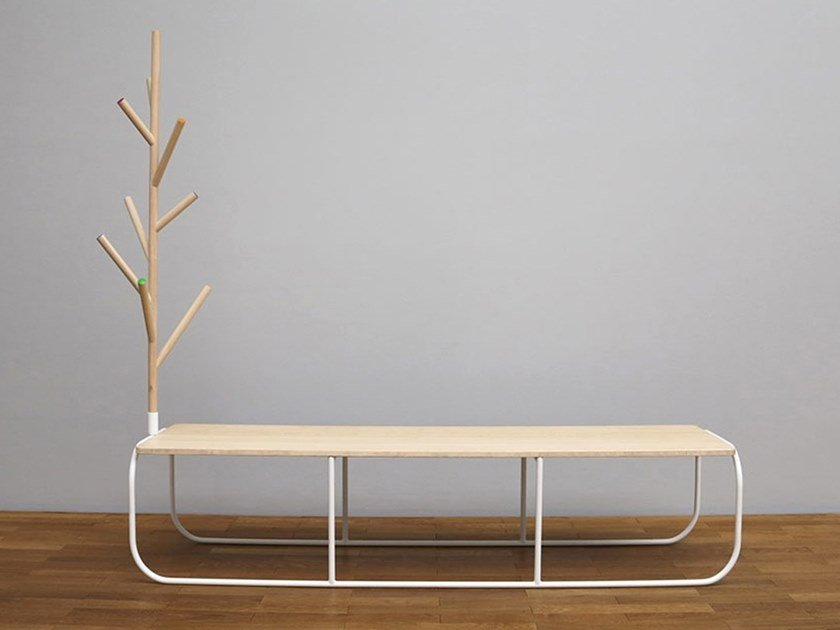 Wooden bench VILLA | Bench by TABISSO