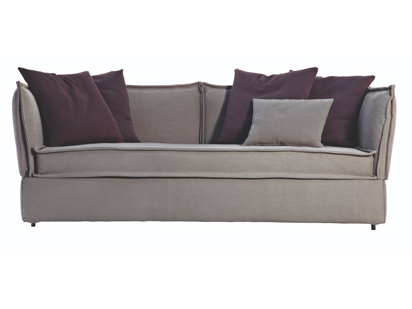 Sofa bed with removable cover VILLAGE by Busnelli