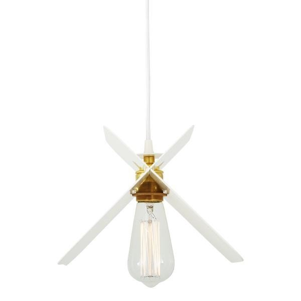 Contemporary style direct light direct-indirect light handmade brass pendant lamp VILNIUS PENDANT LIGHT | Handmade pendant lamp by Mullan Lighting