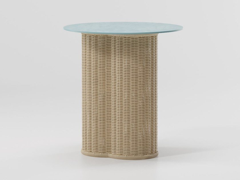 Vimini Round Coffee Table Vimini Collection By Kettal Design