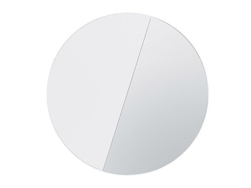 Specchio rotondo da parete VINKEL | Specchio by Hem