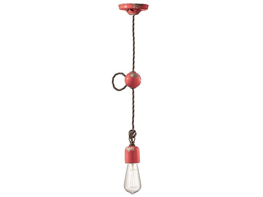 Adjustable ceramic pendant lamp VINTAGE | Adjustable pendant lamp by FERROLUCE