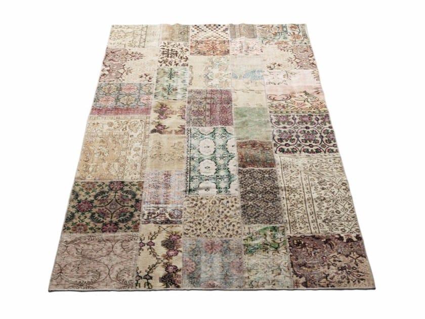 Handmade patchwork rug VINTAGE by Massimo Copenhagen