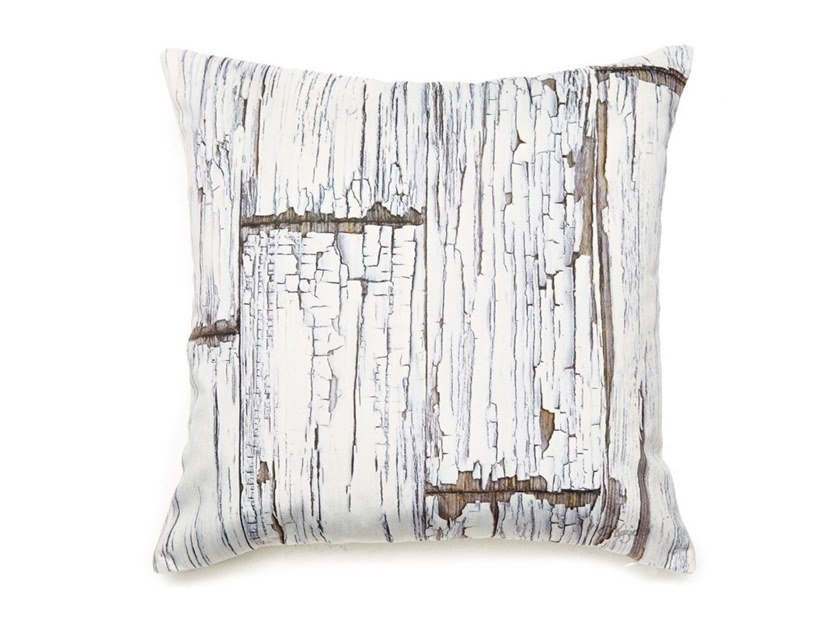 Square cushion VINTAGE SCRAPWOOD by Koziel