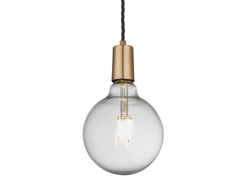 Lampade A Sospensione Vintage : Vintage sleek lampada a sospensione in ottone collezione vintage