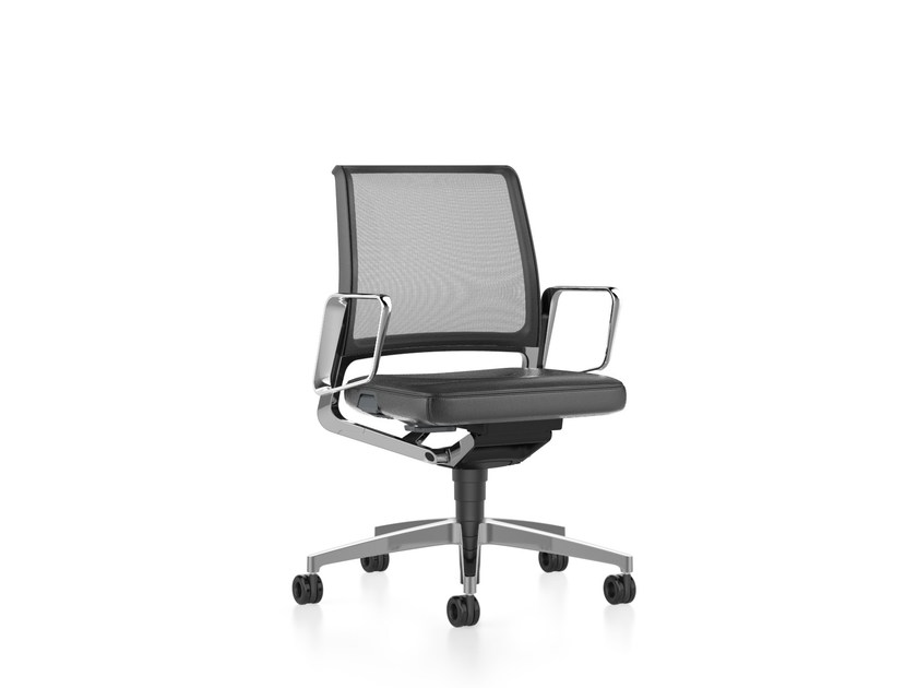 ergonomic mesh task chair with 5 spoke base vintage is5 16v7 by