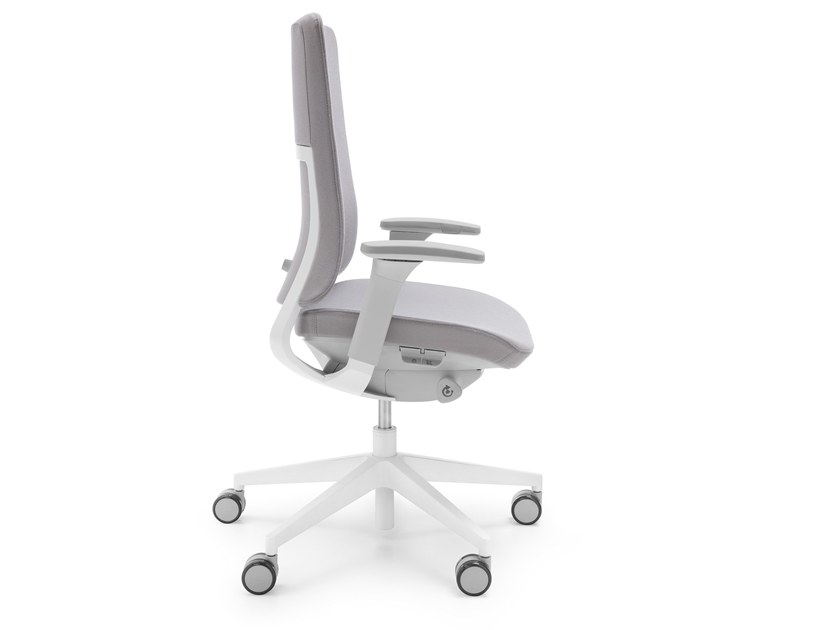 Height-adjustable fabric task chair VIOLLE 130SFL by profim