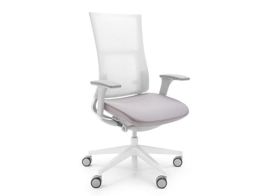 Task chair with 5-Spoke base with casters VIOLLE 150SFL by profim