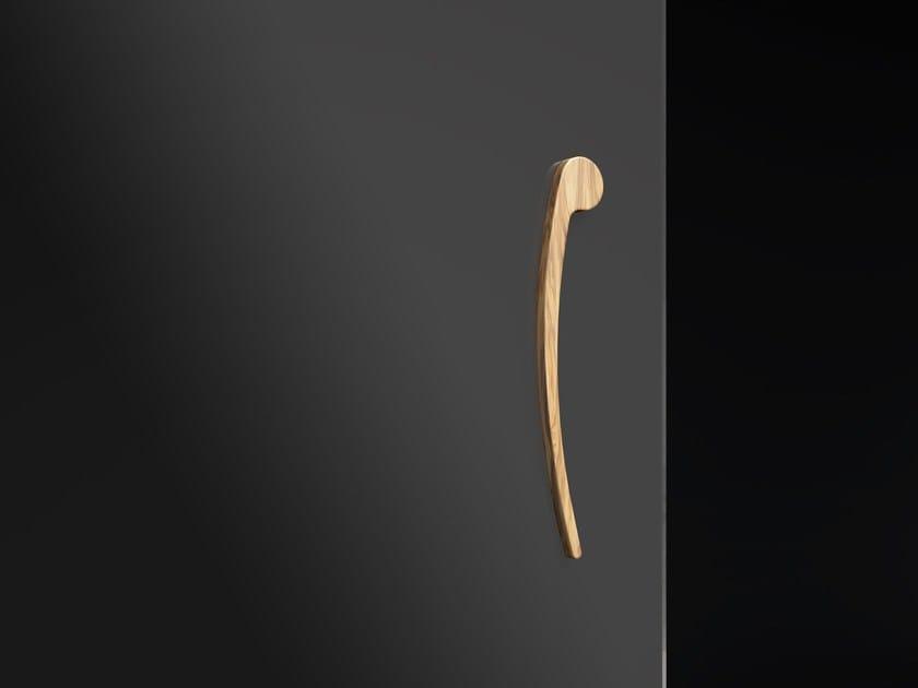 Wooden glass door handle VIRGOLA by FOA