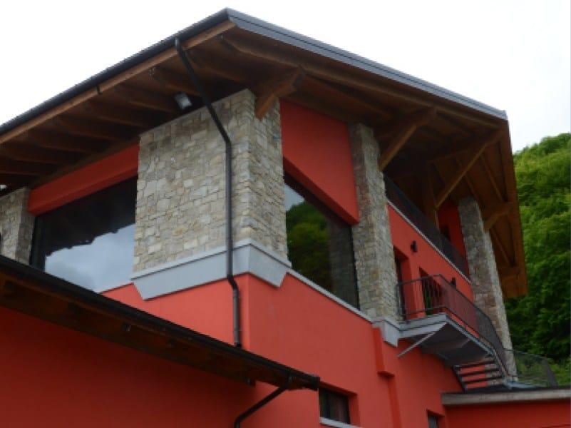 Architectural stone veneer VIRLE P80 by GEOPIETRA®