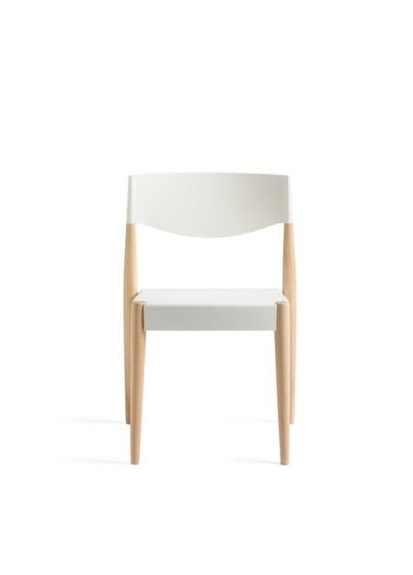 In Design Legno E Alma Impilabile Polipropilene VirnaSedia c4q3ARj5L