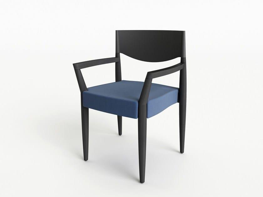 Sedia con braccioli virna sedia con braccioli alma design