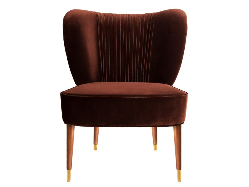 b9c392612b4 Upholstered Velvet Easy chairs
