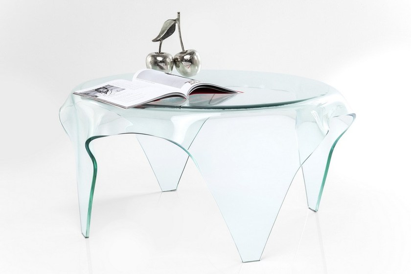 design products en table kare glass clear by visible coffee tempered b round