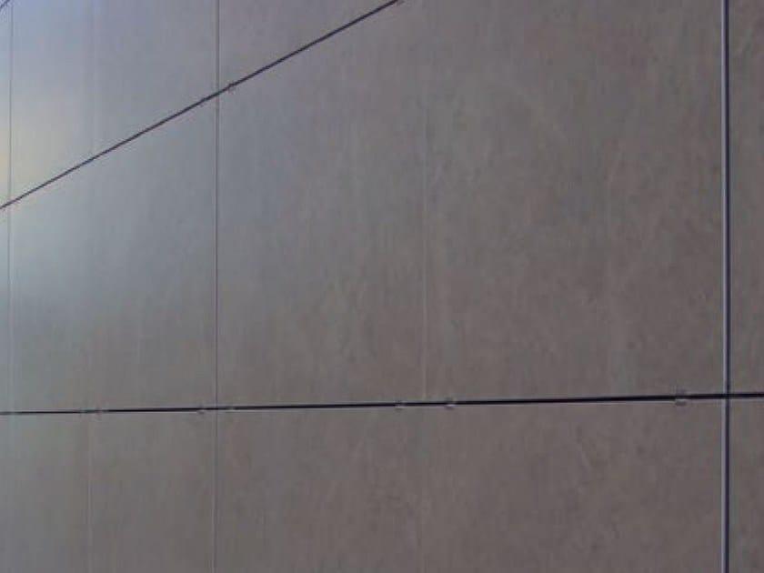 Visible fixing clip for ceramic tiles VISIBLE FACADE FIXINGS by Butech