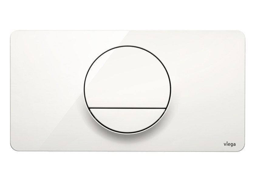 Flush plate VISIGN FOR STYLE 13 by Viega Italia